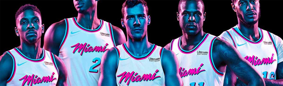 Les Miami Heat en mode Vice