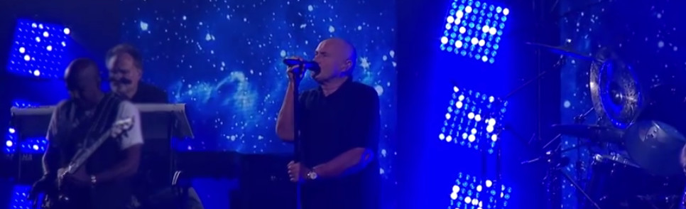 Phil Collins ouvre l'US Open avec In The Air Tonight