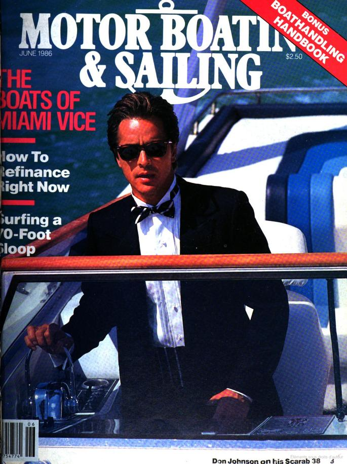 The boats of Miami Vice - Couverture