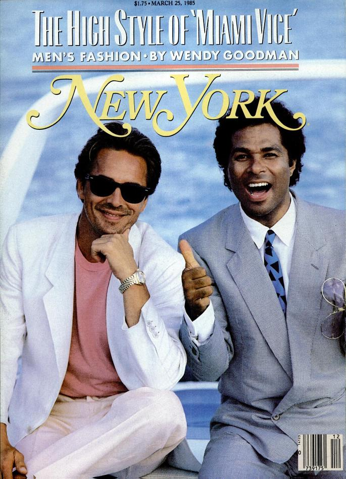 The High Style of Miami Vice - Couverture