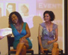 Olivia Brown & Saundra Santiago (accompagnées d'Alex de A.LL Events)