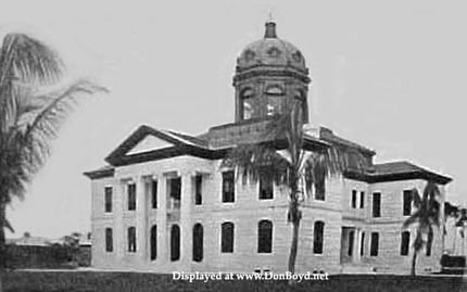 Le Miami-Dade County Courthouse en 1907