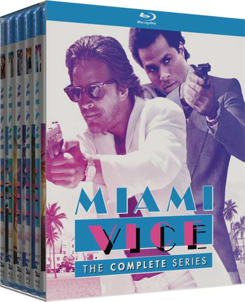 Coffret Miami Vice Blu Ray