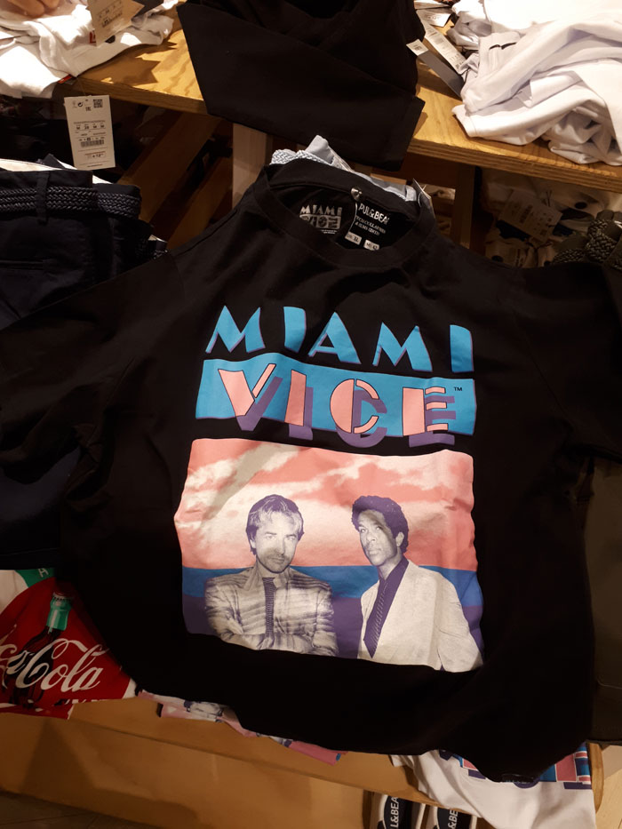 T-Shirt Miami Vice (Pull & Bear - 2018)